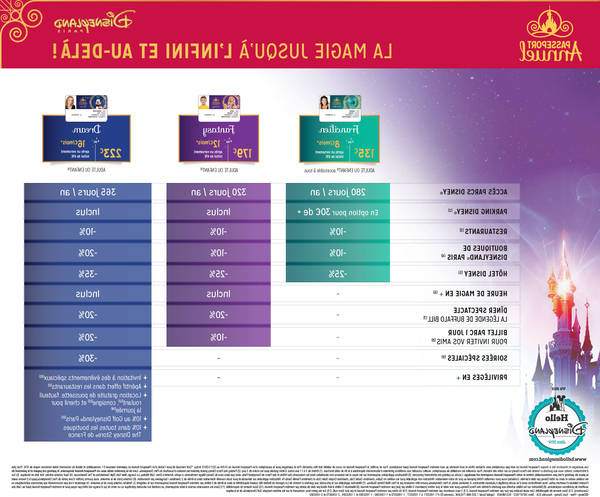 tarif groupe disneyland paris 2019