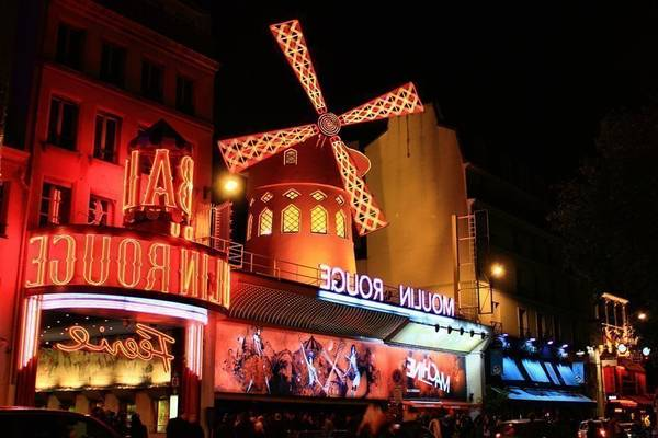 teatro moulin rouge paris