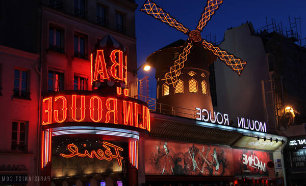 moulin rouge paris show times