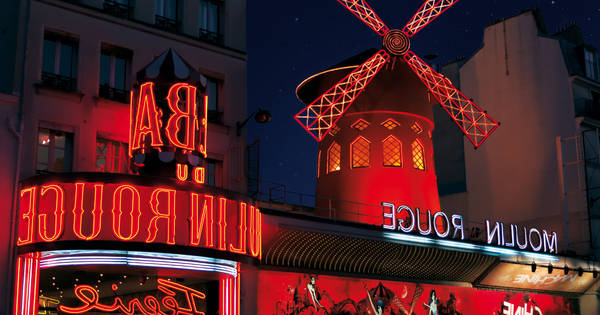 moulin rouge cafe paris