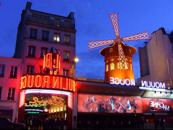 moulin rouge paris vintage