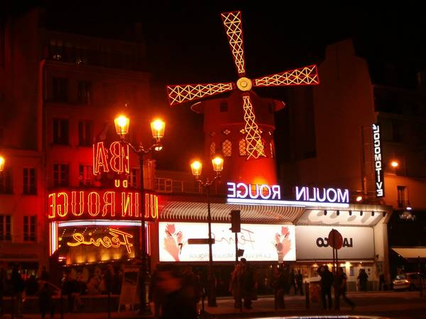 moulin rouge paris horarios